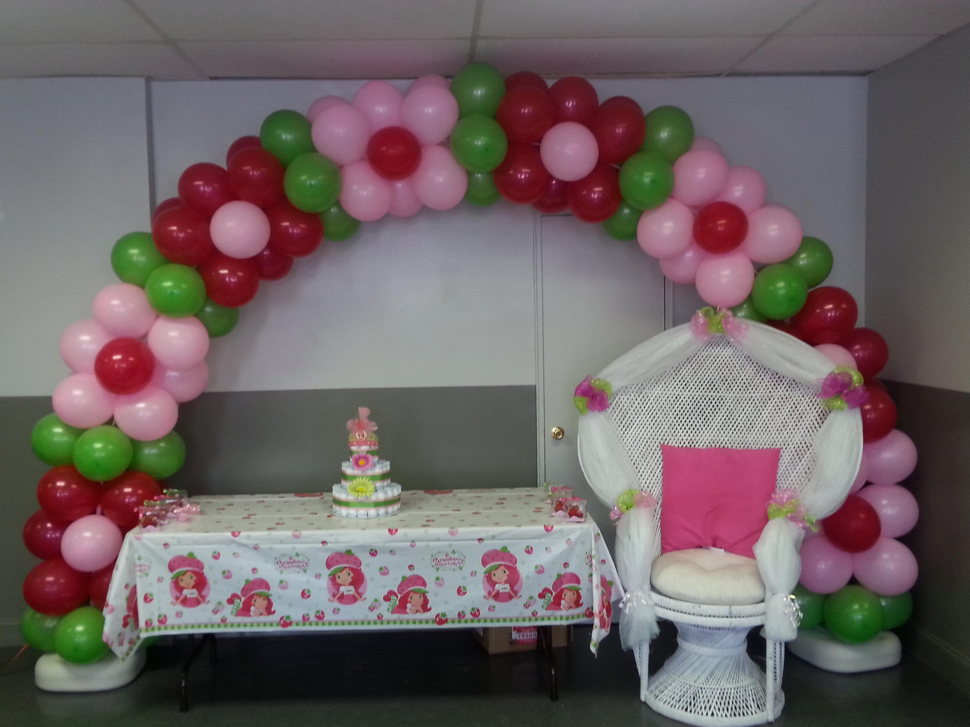 Strawberry Shortcake Baby Shower Home Design