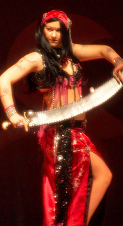 Bellydance Sword Instructor Shahravar