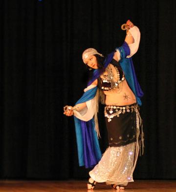 Slc, Utah veil dancer shahravar