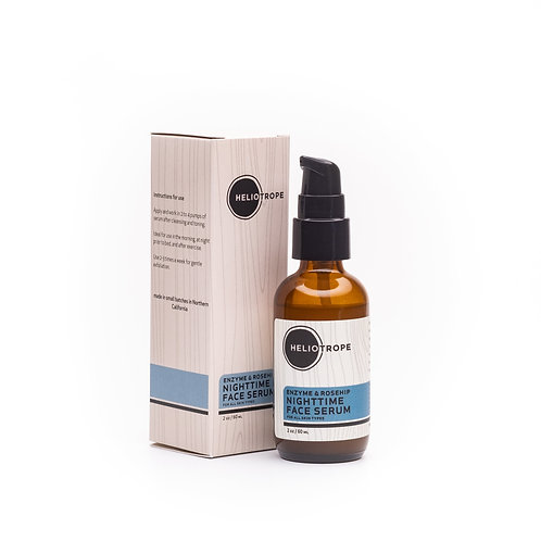 Enzyme & Rosehip Nighttime Face Serum
