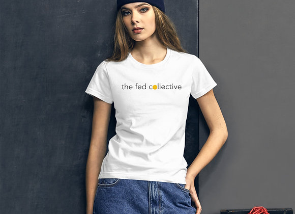 """""""the fed collective"""" short sleeve fashion tee"""