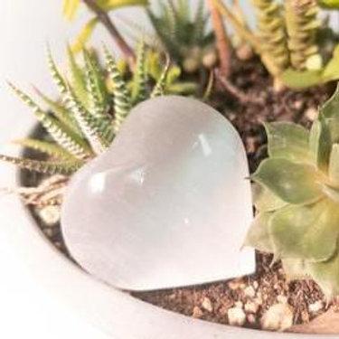 Natural Polished Stone Heart