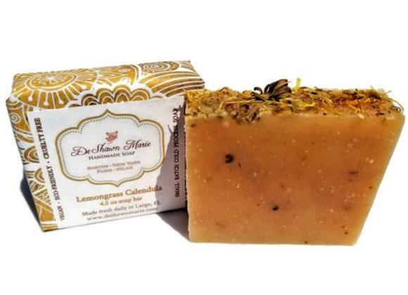 Lemongrass Calendula Soap
