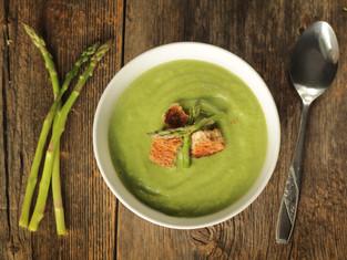 Vegan Asparagus Purée Soup