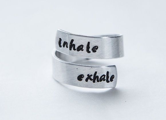 Inhale Exhale Ring