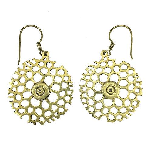 Honeycomb Bomb Earrings