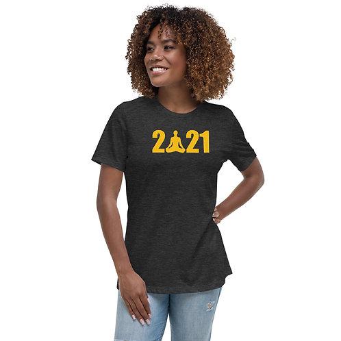 An Om-Azing New Year, Women's T-Shirt