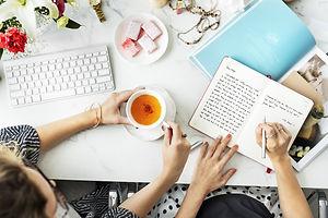 Friends Tea Journal Keyboard Magazine Co