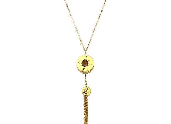 Bullet Tassel Necklace