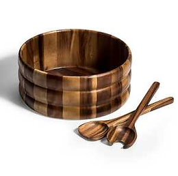 X-Large Salad Bowl with Servers