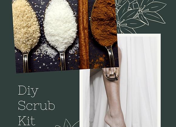DIY Scrub Kits, Make scrubs at home