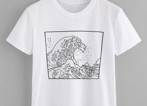 Graphic Tee: Make Waves