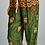 Thumbnail: Green Boho Elephant Print Pants