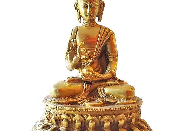 Medium Buddha Brass Statue