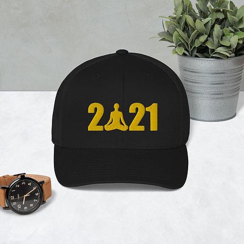 An Om-Azing New Year, Trucker Cap