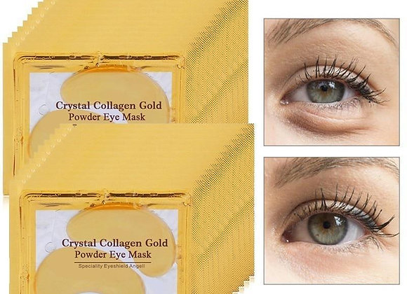 24K Gold Collagen Eye Mask, 12 Sets of Under Eye Patches