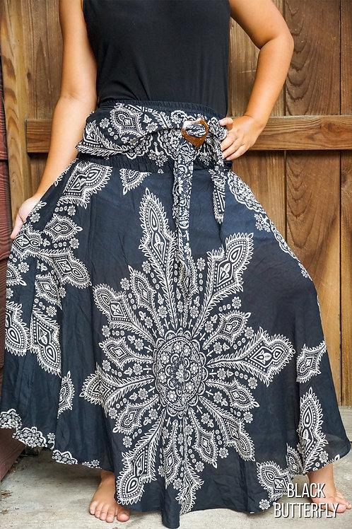 Boho Skirt Hippie Skirt Gypsy Skirt
