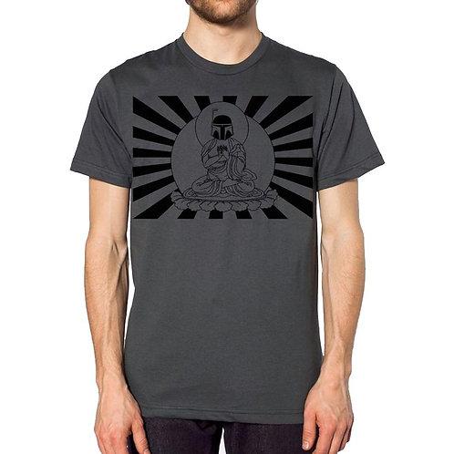 Star Wars Bobba Fett Buddha t-shirt, men's cut