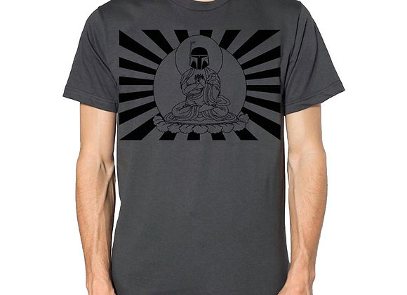 Star Wars Bobba Fett Buddha t-shirt, men's cut