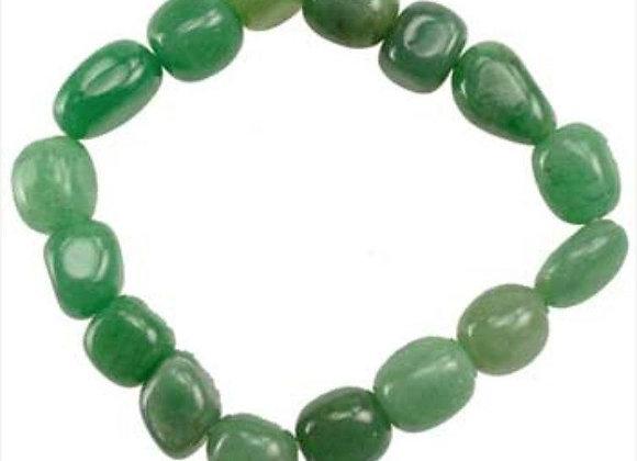 Tumbled Aventurine Bracelet for Good Fortune