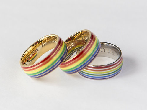 Gay Pride Rainbow Ring Equal Love Gift Gay pride