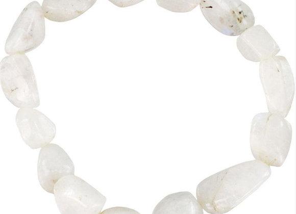 Tumbled Moonstone Bracelet