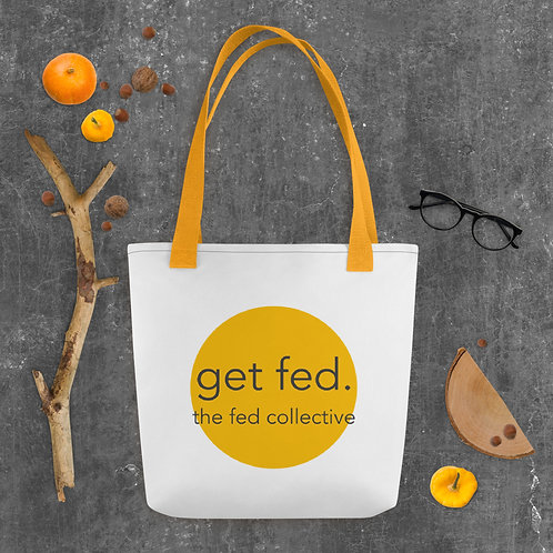 """the fed collective"" Tote Bag"