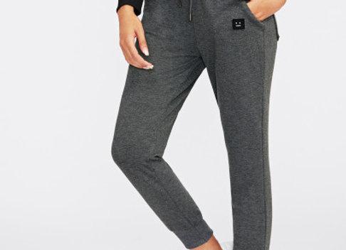 Patch Detail Jogger Pants