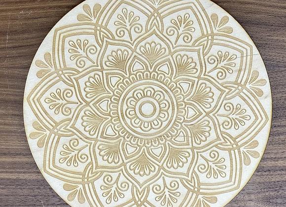 Mandala Crystal Grid #21