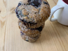 The PERFECT Vegan Blueberry Muffin