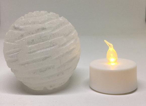 Selenite Bubble Lamp