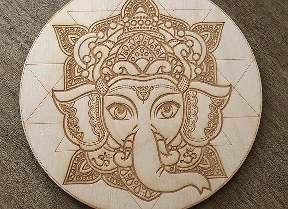 Ganesh Crystal Grid