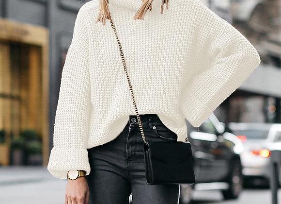 Warm Turtleneck Sweater Knitwear