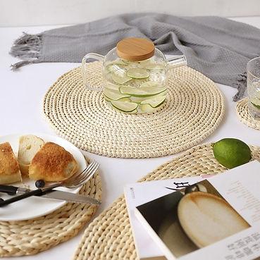 Corn-fur-woven-Dining-Placemat-Heat-Insu