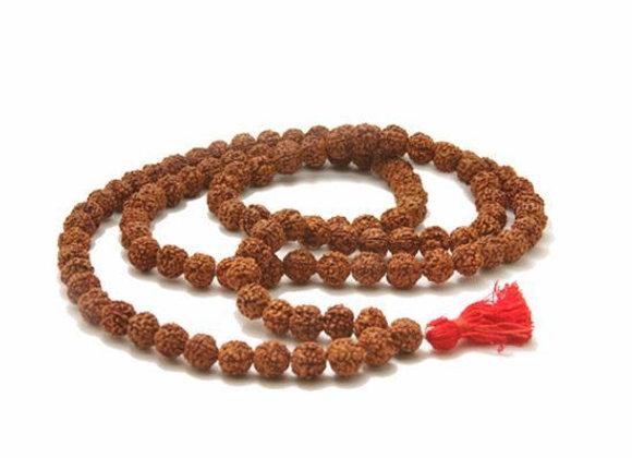 Rudraksha Natural Beads Mala - 108 Beads
