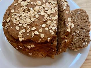 Vegan Apple Sauce Bread (oil free)
