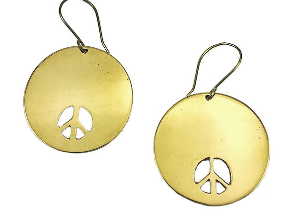 Bombshell Peace Earrings