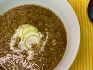 Creamy Vegan Mushroom Soup