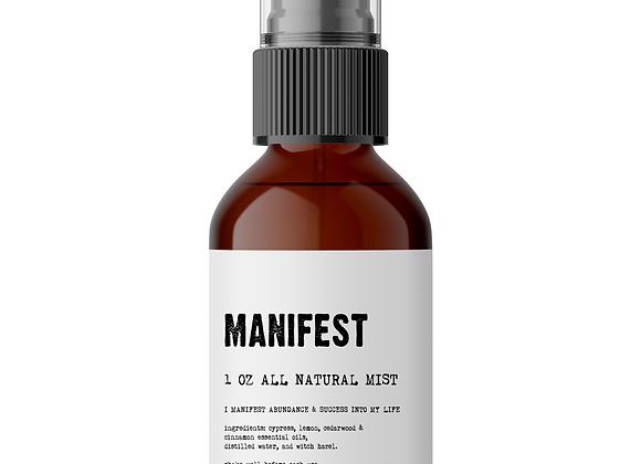 Manifest - Meditation/Body Mist - 100% all natural