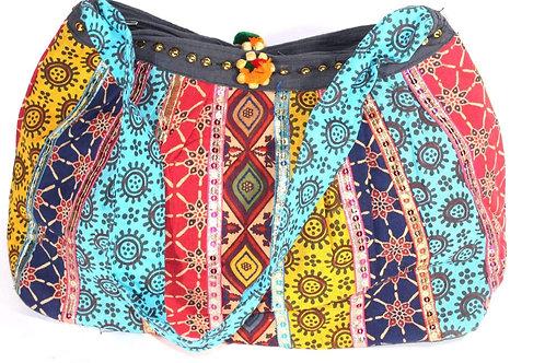 Festival Fireworks Mini Jhola Duffle Bag