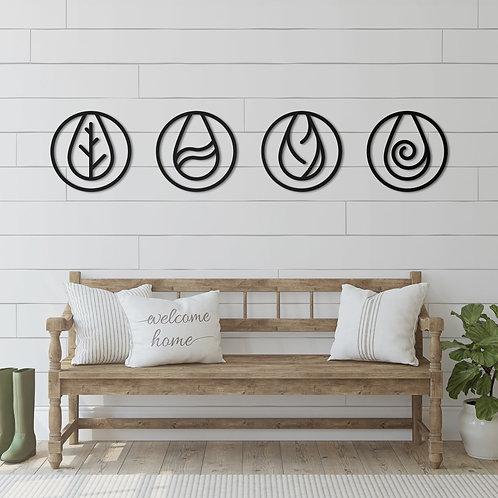 Four Elements - Kashi - Wall Art