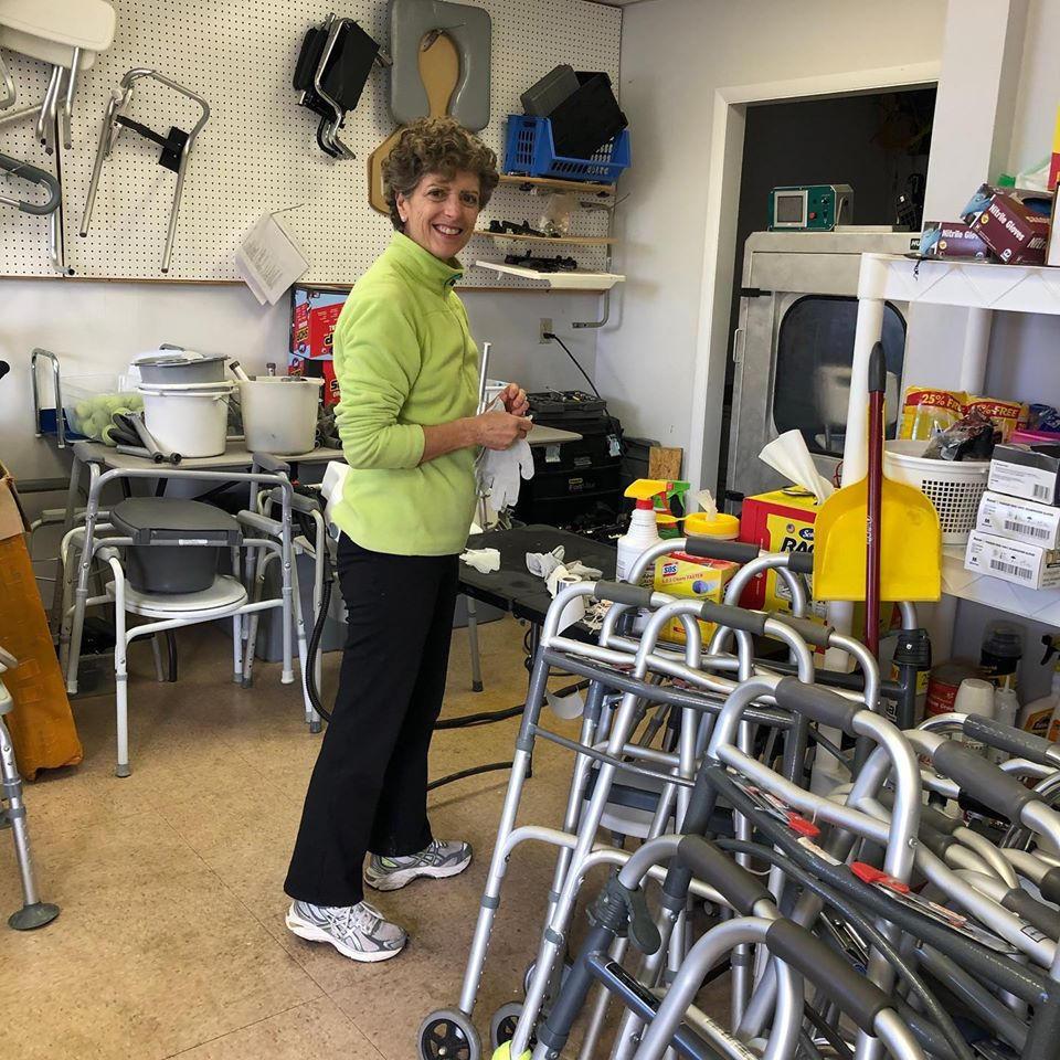 F.R.E.E. volunteer cleaning equipment