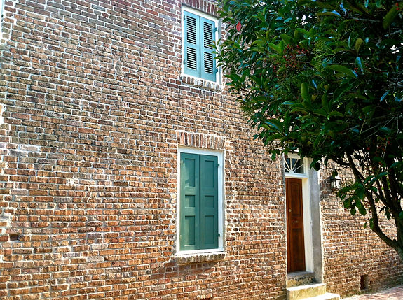 Historic house on Stoll's Alley Charleston
