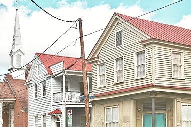Morris Street Business District