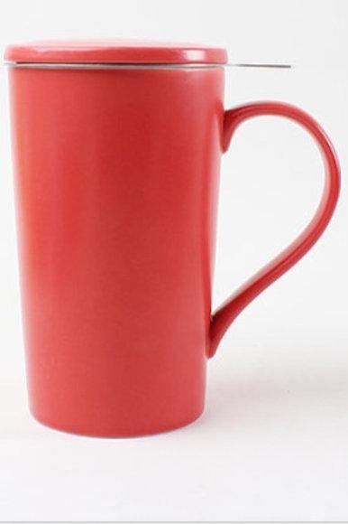 Tasse en porceleine avec infuseur