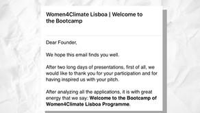 Ocean Immersion selecionado para o Bootcamp Women4Climate
