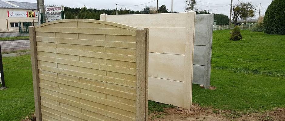 Mur en plaque