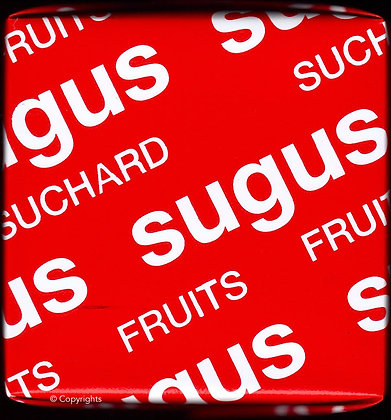 SUGUS ROUGE   ( Red Sugus )