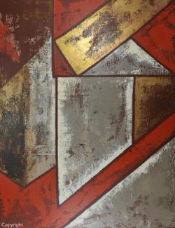 COMPOSITION 2014 - 147x114 cm