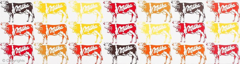 21 VACHES MILKA   ( 21 Milka cows)